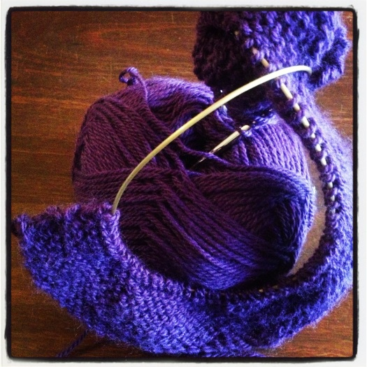 Jasper's Knitting